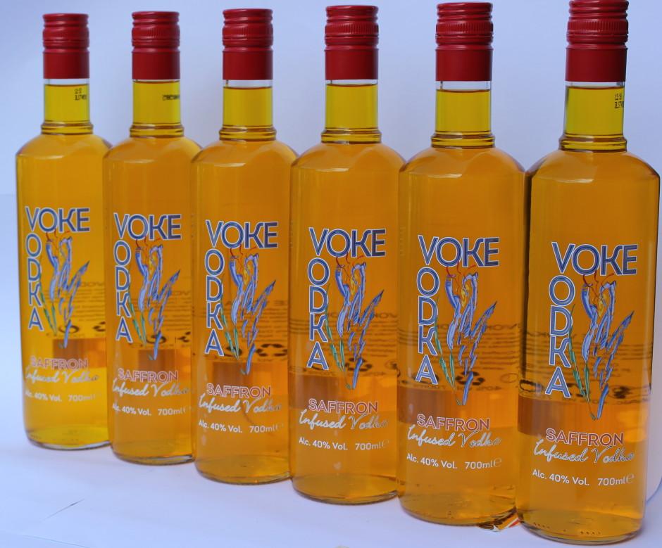 Saffron Vodka